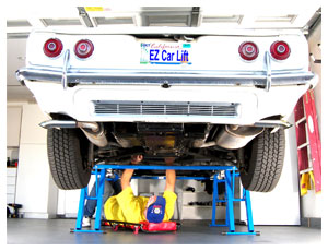 Ez Car Lift Free Standing Use Anywhere Car Lift Fast Safe